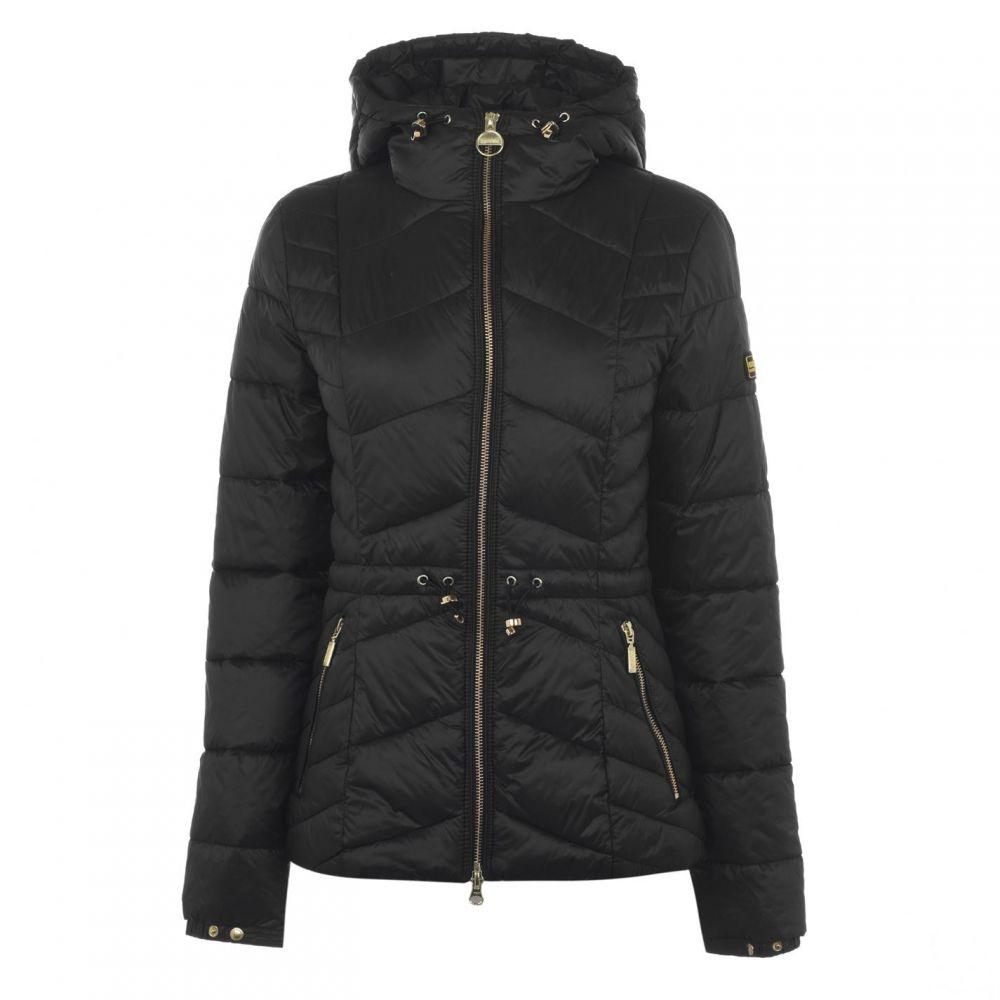 バブアー Barbour International レディース ジャケット アウター【ace quilted jacket】Black