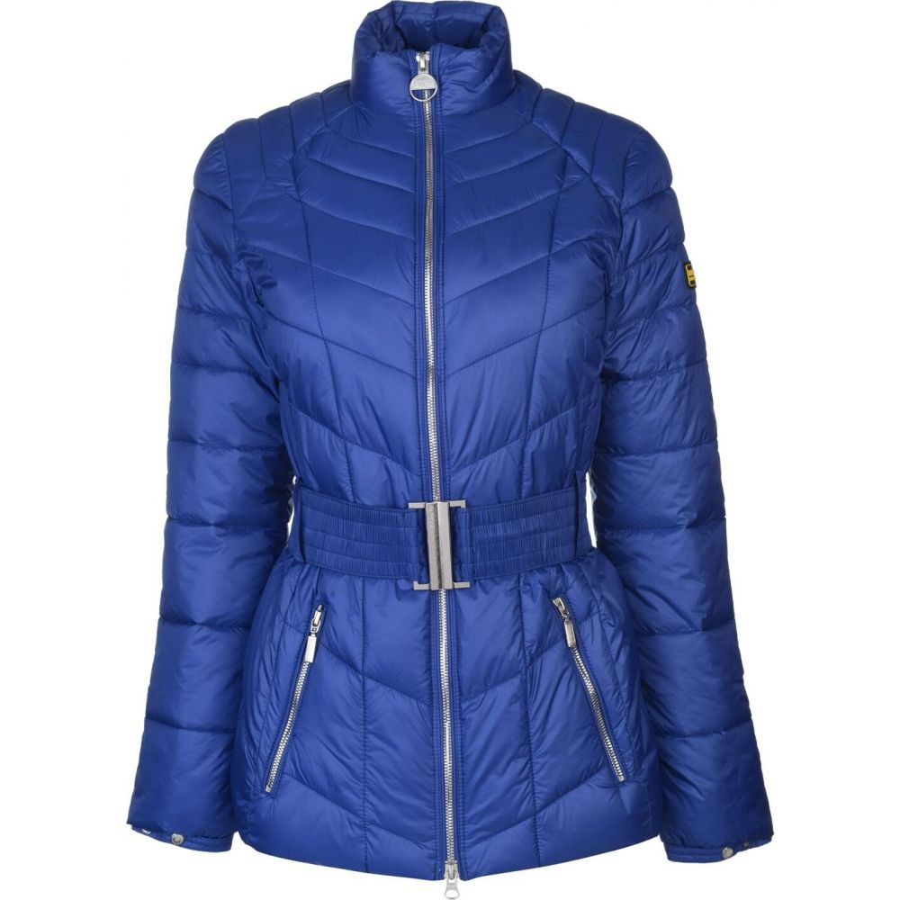 バブアー BARBOUR INTERNATIONAL レディース ジャケット アウター【morzine heritage quilted jacket】Ultra Marine