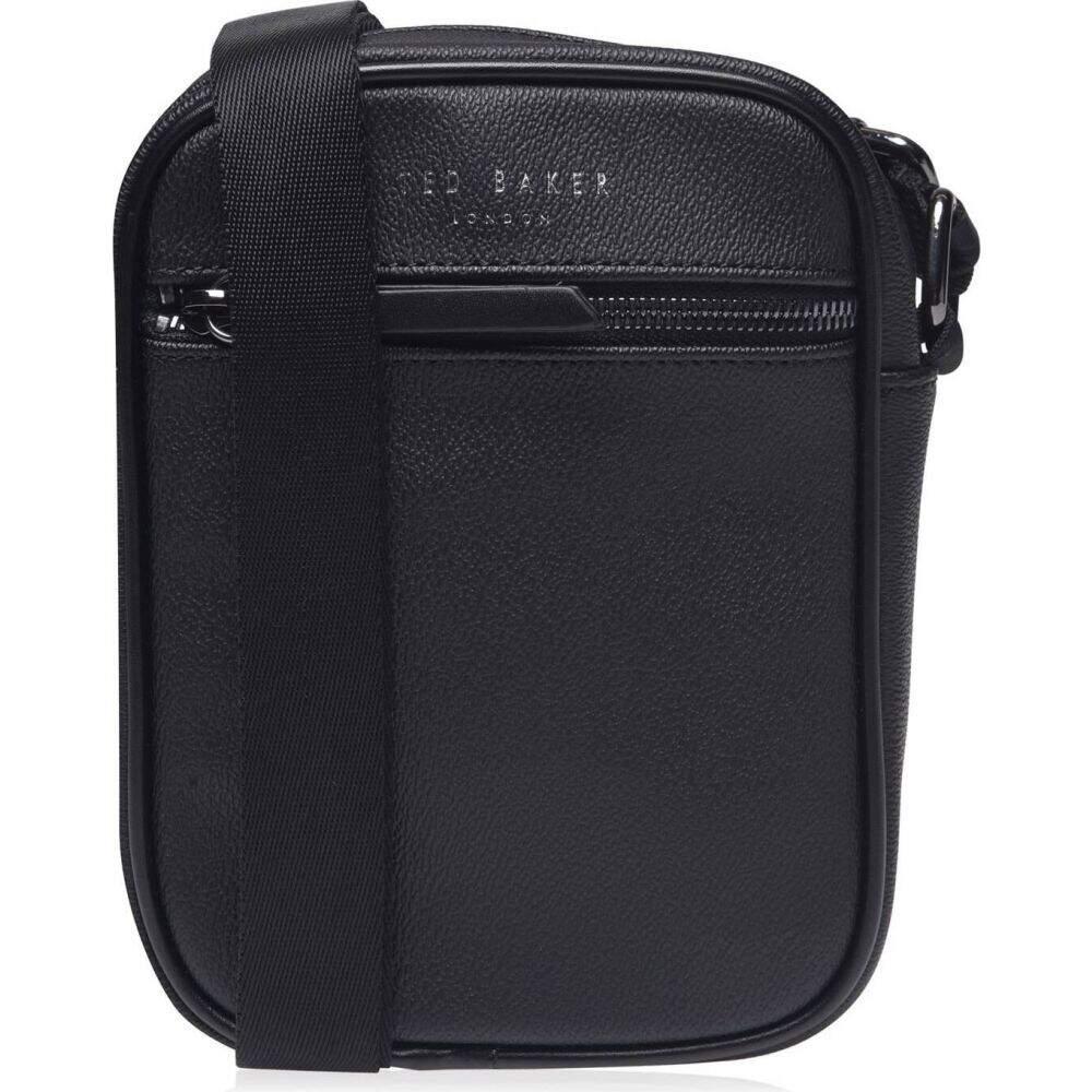 テッドベーカー Ted Baker メンズ ショルダーバッグ バッグ【pearce cross body flight bag】BLACK
