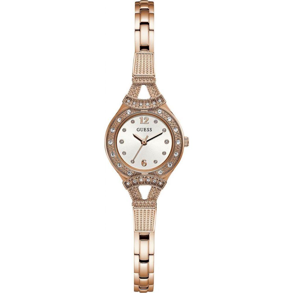 ゲス Guess レディース 腕時計 【rose gold dainty watch】METALLICS