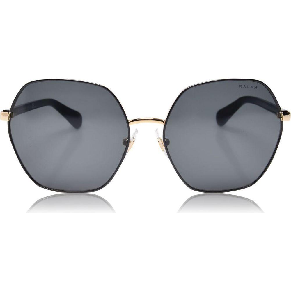 ラルフ ローレン Ralph Lauren ユニセックス メガネ・サングラス 【shiny gold with black ra4124 irregular sunglasses】Shiny Gold