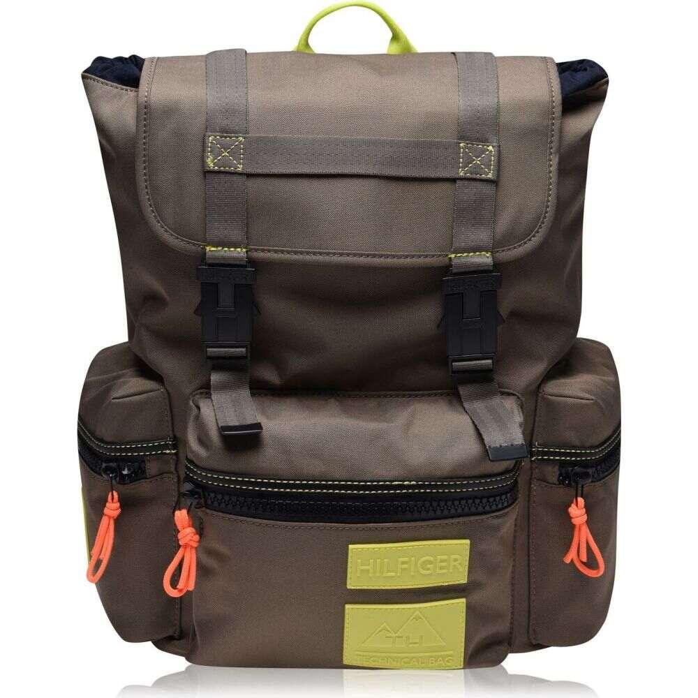 トミー ヒルフィガー Tommy Hilfiger メンズ バックパック・リュック バッグ【nylon drawcord flap backpack】Nomad HD