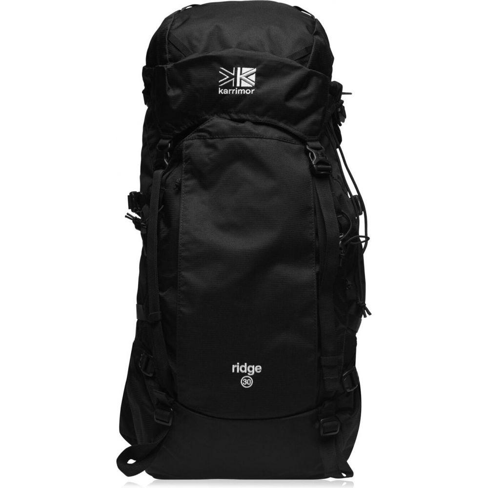 カリマー Karrimor メンズ バックパック・リュック バッグ【k1 ridge 30 rucksack】Black