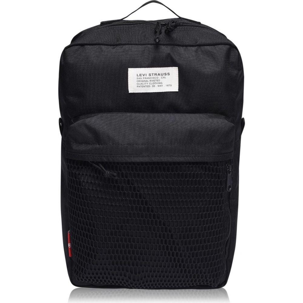 リーバイス Levis メンズ バックパック・リュック バッグ【mesh backpack】Black