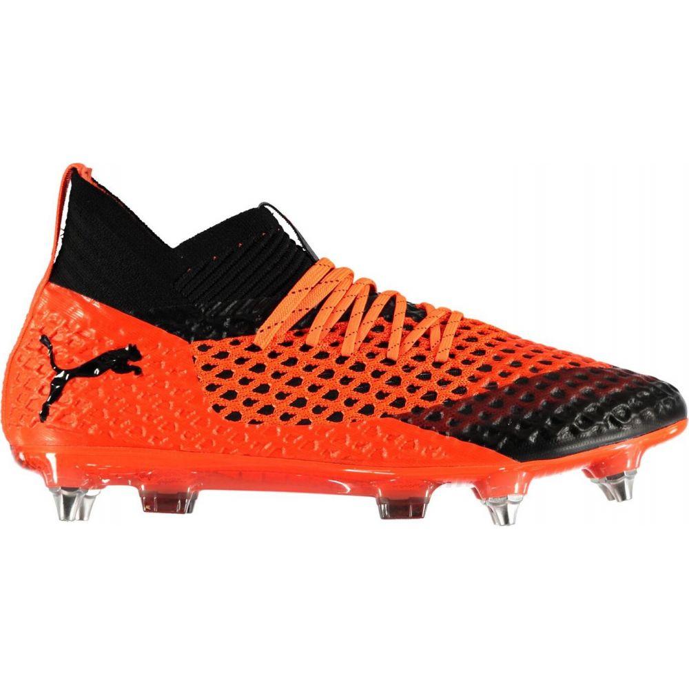 プーマ メンズ サッカー シューズ・靴 Orange/Black 【サイズ交換無料】 プーマ Puma メンズ サッカー ブーツ シューズ・靴【Future 2.1 SG Football Boots】Orange/Black