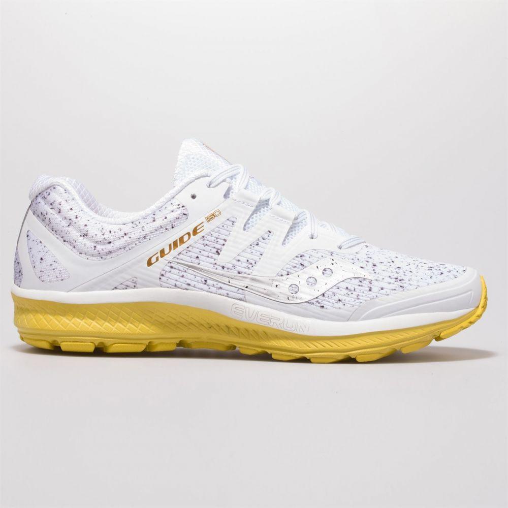 サッカニー Saucony メンズ ランニング・ウォーキング シューズ・靴【guide iso running shoes】White Noise