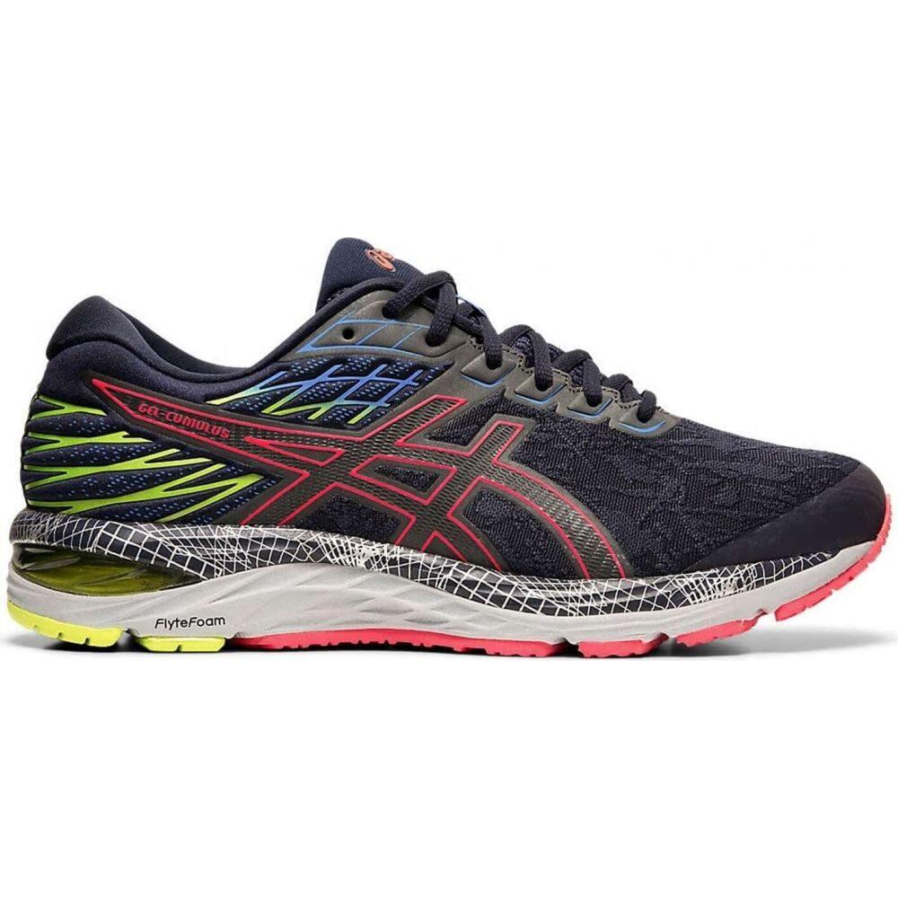 アシックス Asics メンズ ランニング・ウォーキング シューズ・靴【gel-cumulus 21 ls running shoes】Midnight/Silver