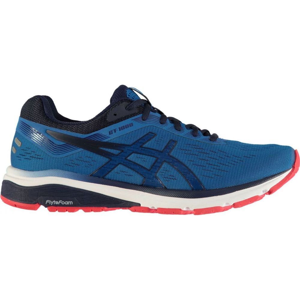 アシックス Asics メンズ ランニング・ウォーキング シューズ・靴【gt 1000 v7 running shoes】Blue/Blue