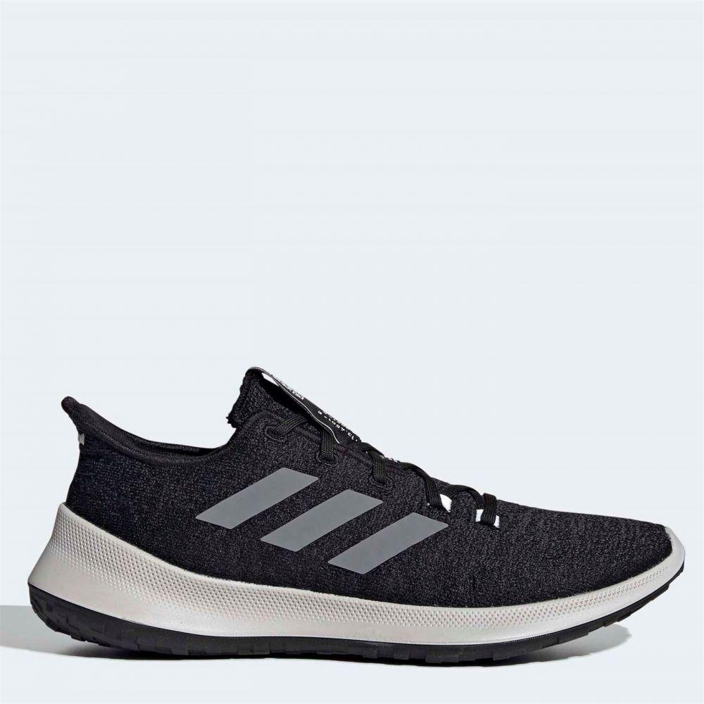 アディダス adidas メンズ ランニング・ウォーキング シューズ・靴【sensebounce running shoes】Black/White