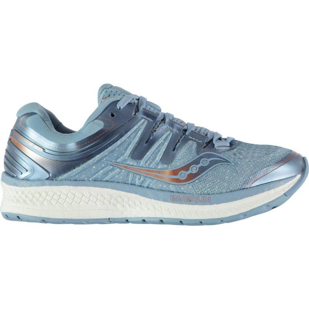 サッカニー Saucony レディース ランニング・ウォーキング シューズ・靴【hurricane iso 4 running shoes】Lt Blue/Denim