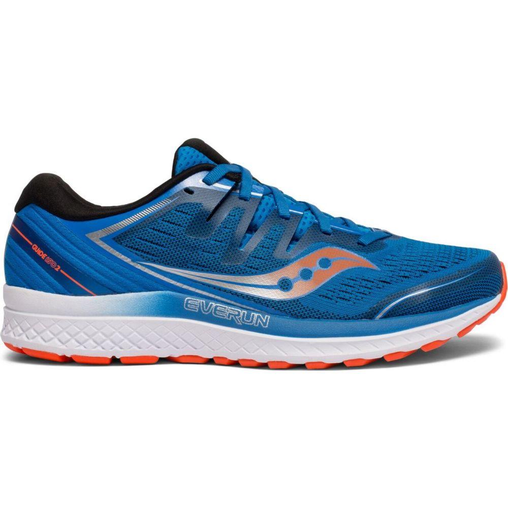 サッカニー Saucony メンズ ランニング・ウォーキング シューズ・靴【guide iso 2 running shoes】Blue/Orange