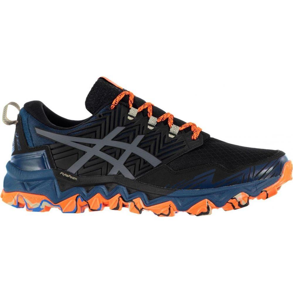 アシックス Asics メンズ ランニング・ウォーキング シューズ・靴【gel fujitrabuco 8 trail running shoes】Blue/Black