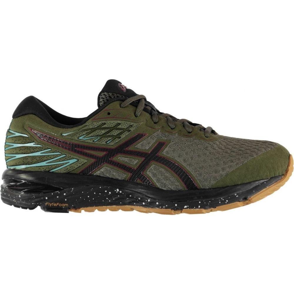 アシックス Asics メンズ ランニング・ウォーキング シューズ・靴【cumulus 21 running shoes】Olive/Black