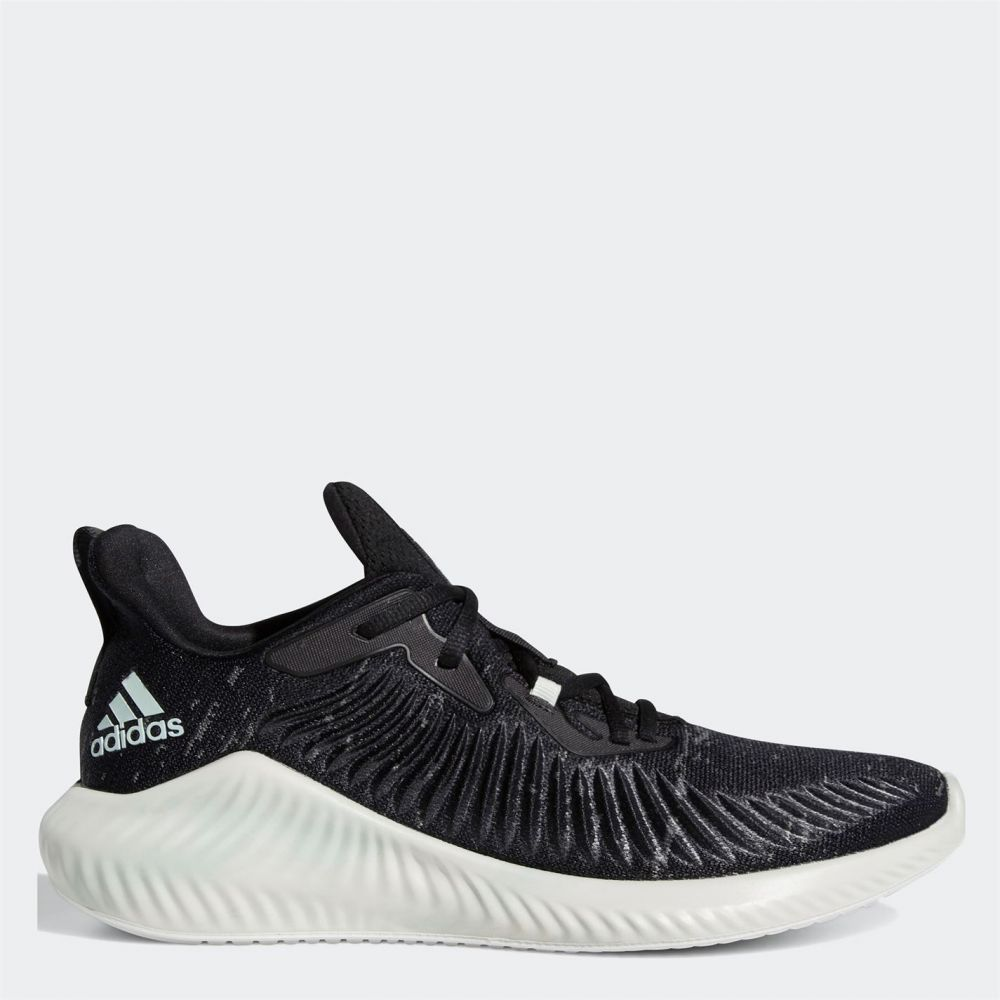 アディダス adidas メンズ ランニング・ウォーキング シューズ・靴【alphabounce parley running shoes】Black/Green