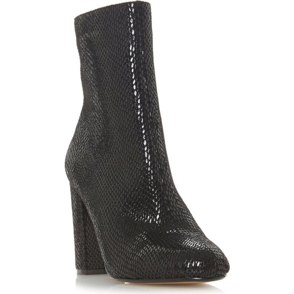 ヘッドオーバーヒールズ Head Over Heels レディース ブーツ シューズ・靴【reeta snake calf boots】Black