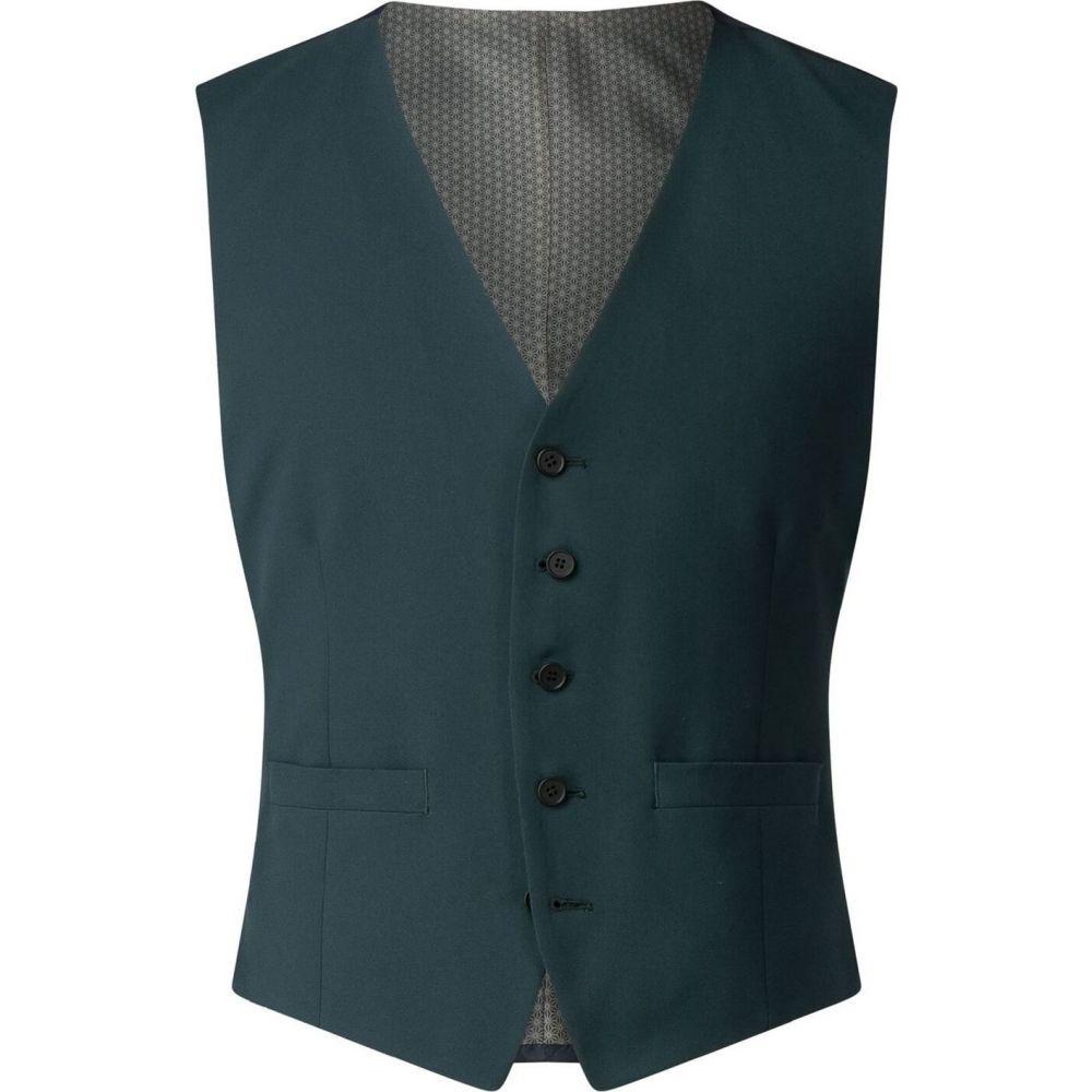 ライムハウス Limehaus メンズ ベスト・ジレ トップス【adrian green panama waistcoat】Green