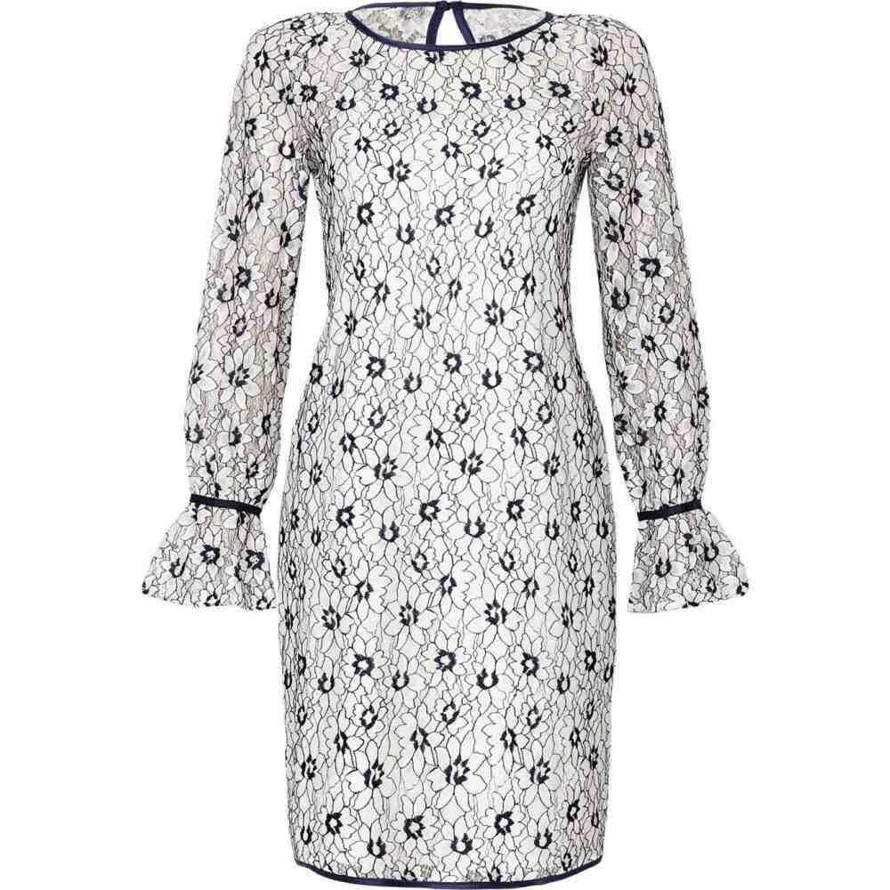 ユミ Yumi レディース チュニック トップス【lace tunic with binding detail】Ivory