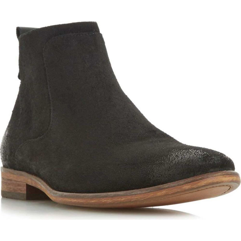 デューン Dune London メンズ ブーツ シューズ・靴【commute side zip boots】Black