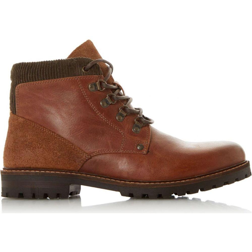 デューン Dune London メンズ ブーツ シューズ・靴【carcher h leather worker boots】Tan