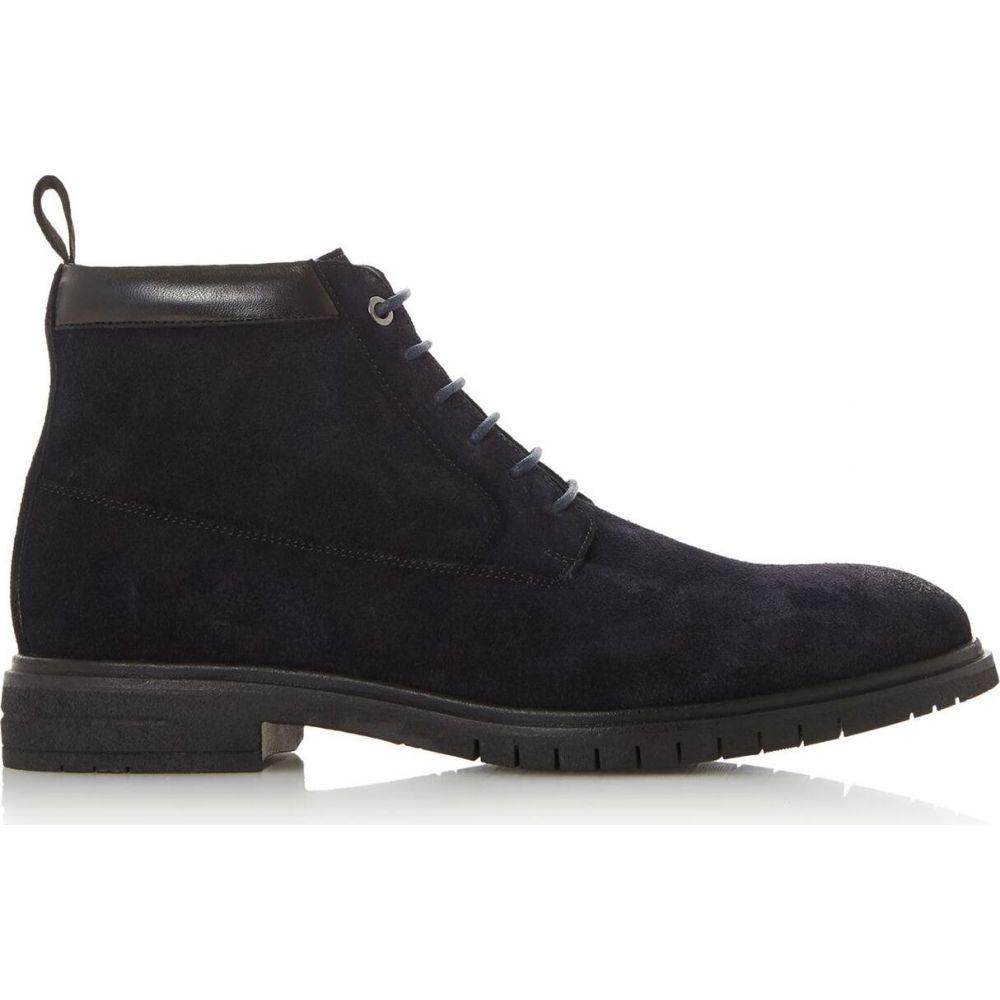 デューン Dune London メンズ ブーツ シューズ・靴【chimney h suede boots】Navy