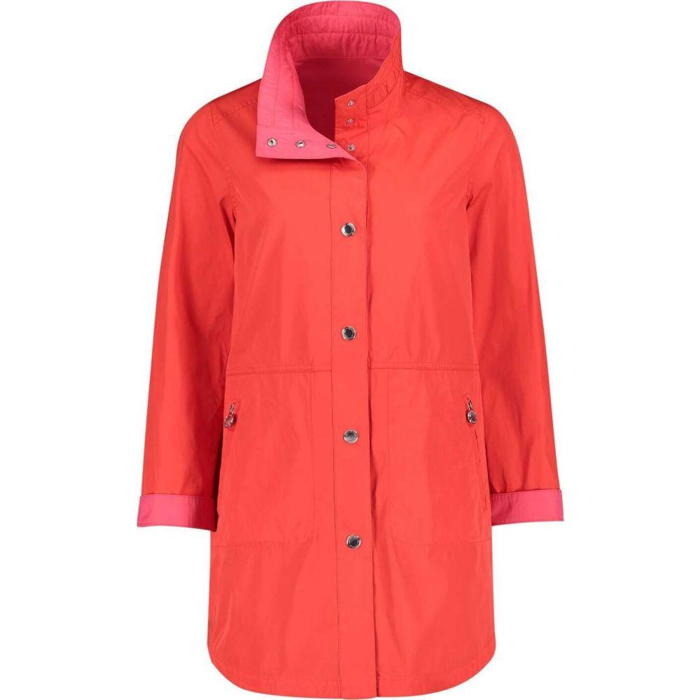 ベティー バークレイ Betty Barclay レディース ジャケット フード アウター【hooded crossover jacket】Tomato