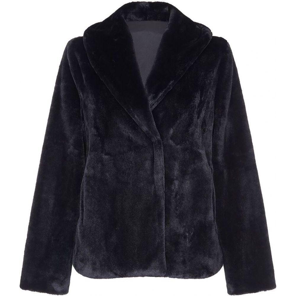 ユミ Yumi レディース ジャケット アウター【short fur jacket】Black