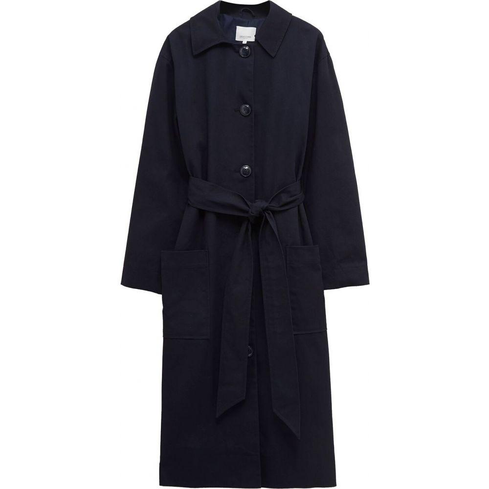 グレート プレインス Great Plains レディース トレンチコート アウター【trinity trench coat】Space Navy