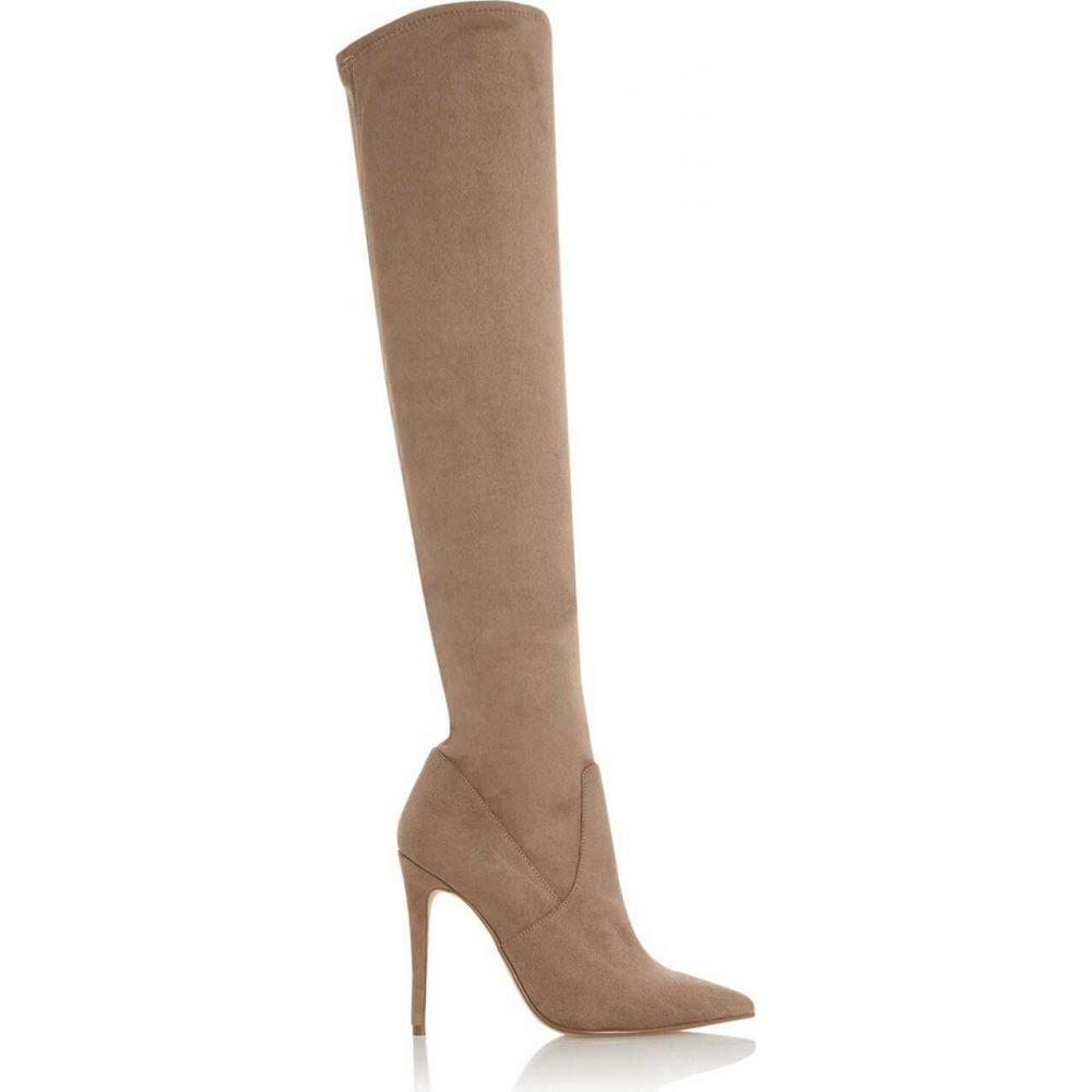 ヘッドオーバーヒールズ Head Over Heels レディース ブーツ ピンヒール シューズ・靴【sienaa thigh high stiletto boots】Grey
