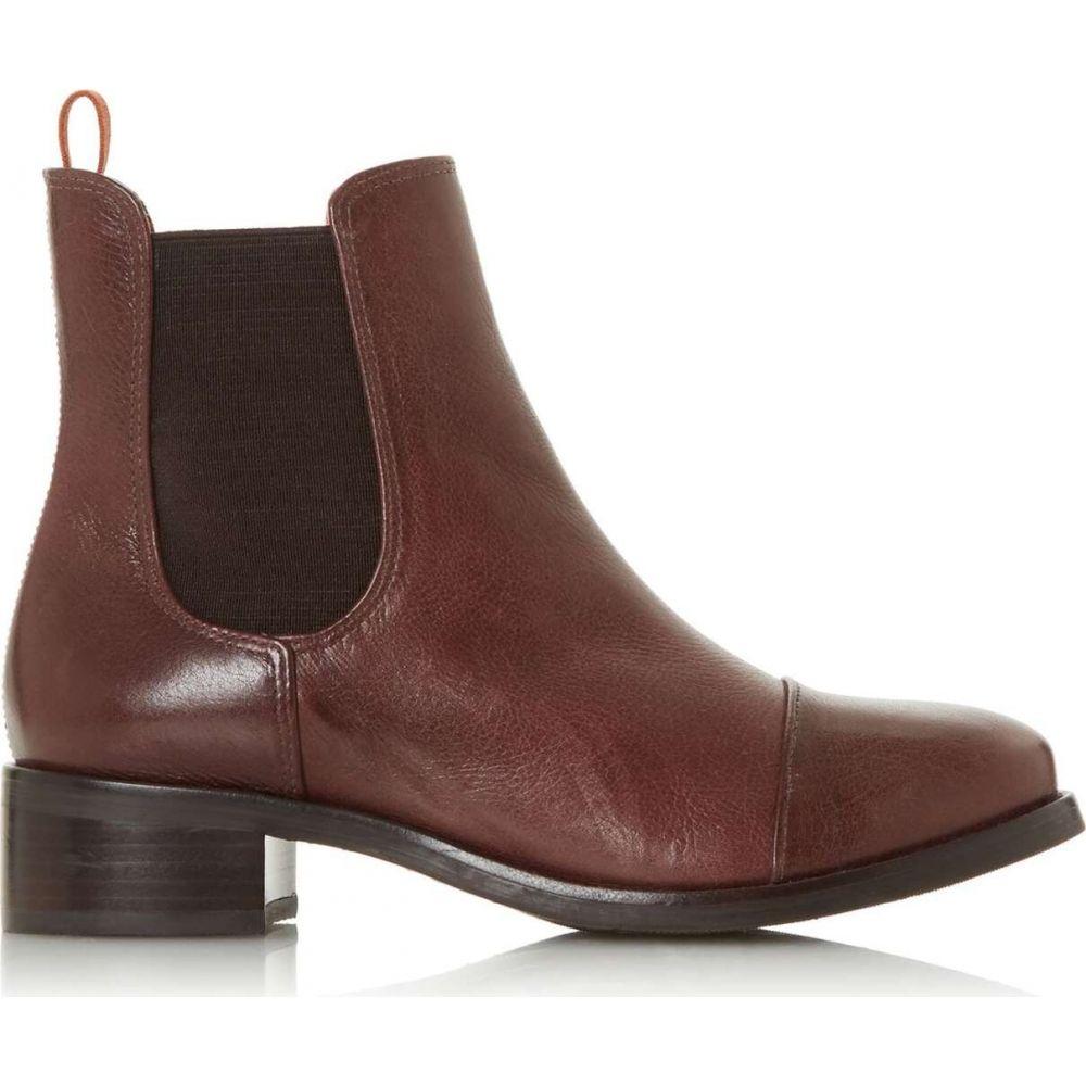 バーティ Bertie レディース ブーツ ショートブーツ シューズ・靴【pack low block heel ankle boots】Burgundy