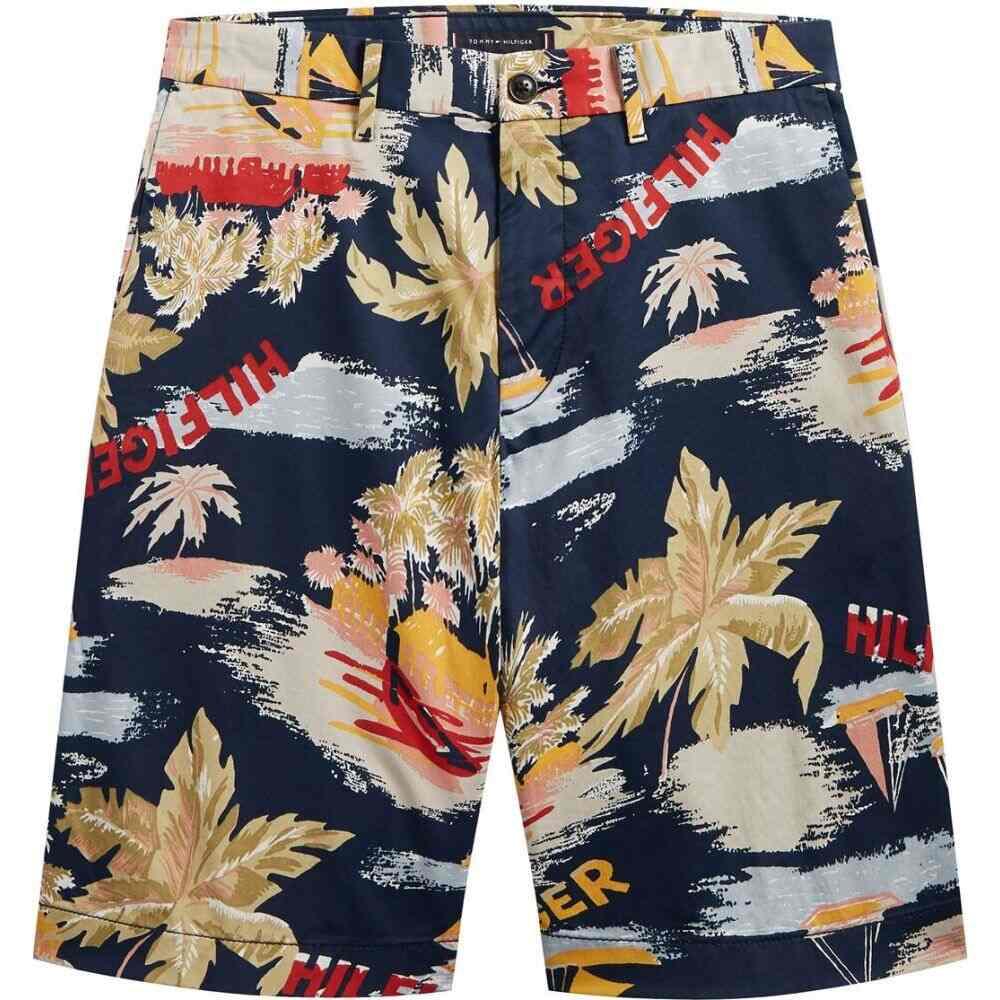 トミー ヒルフィガー Tommy Hilfiger メンズ ショートパンツ ボトムス・パンツ【brooklyn printed shorts】NAVY/MULTI