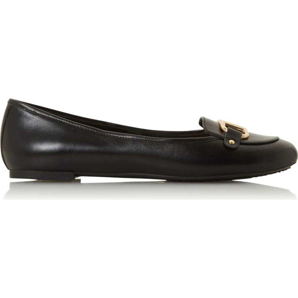 デューン Dune London レディース ローファー・オックスフォード シューズ・靴【hylton slip on loafers】Black