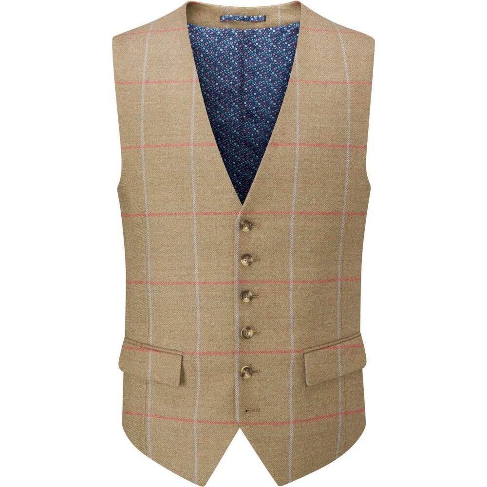 スコープス Skopes メンズ ベスト・ジレ トップス【wishart wool blend waistcoat】Sage