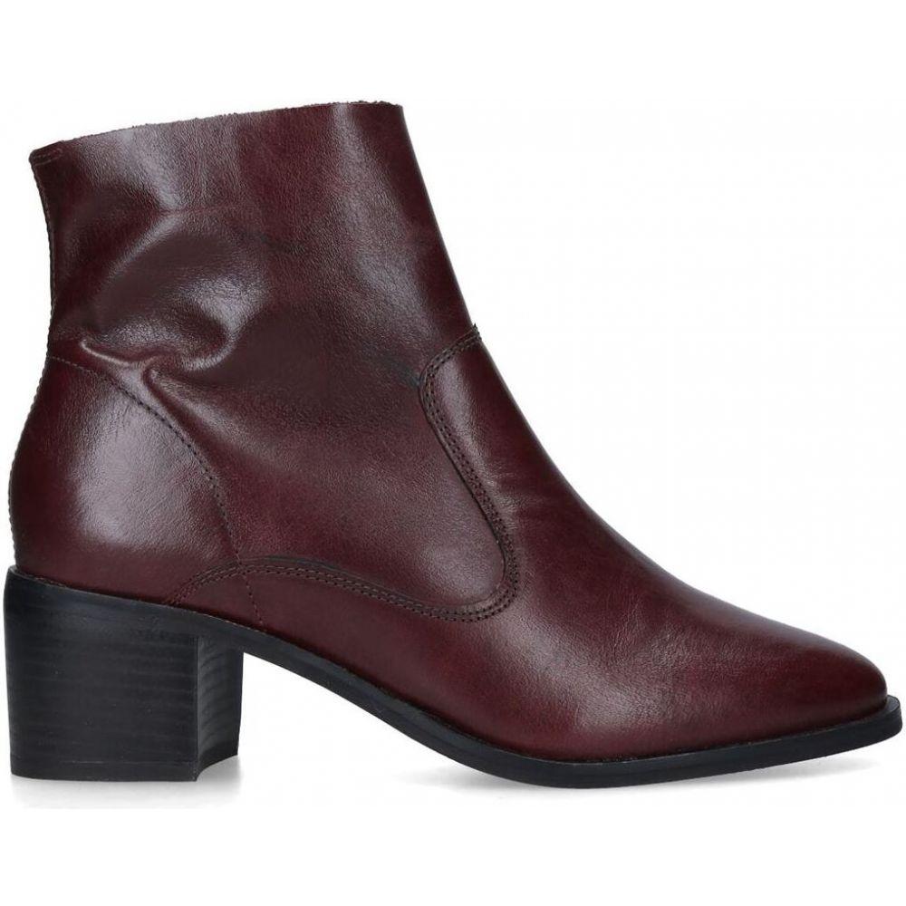 カーベラ Carvela レディース ブーツ ショートブーツ シューズ・靴【ship ankle boots】RED