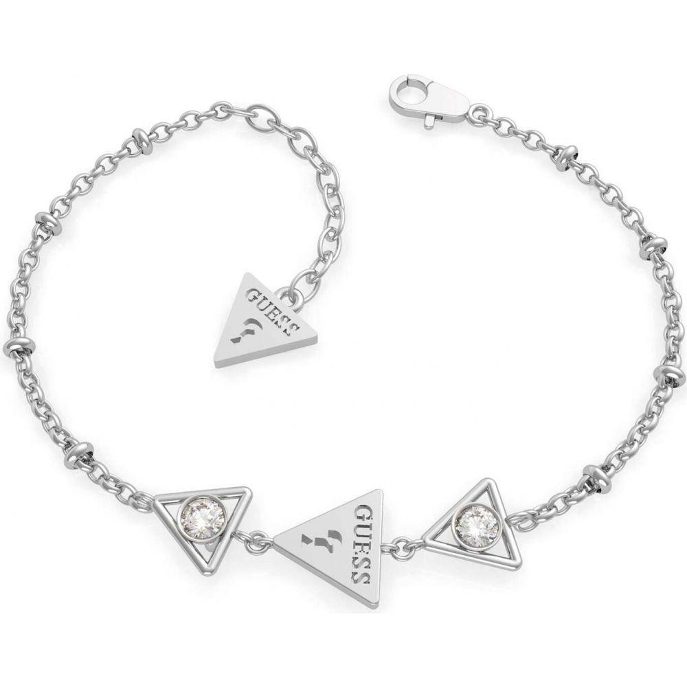 ゲス Guess ユニセックス ブレスレット ジュエリー・アクセサリー【3 triangles bracelet】METALLICS