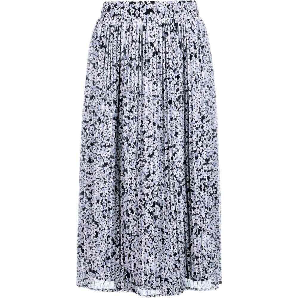 ヴィラ Vila レディース ひざ丈スカート スカート【mol midi skirt】Navy Blazer