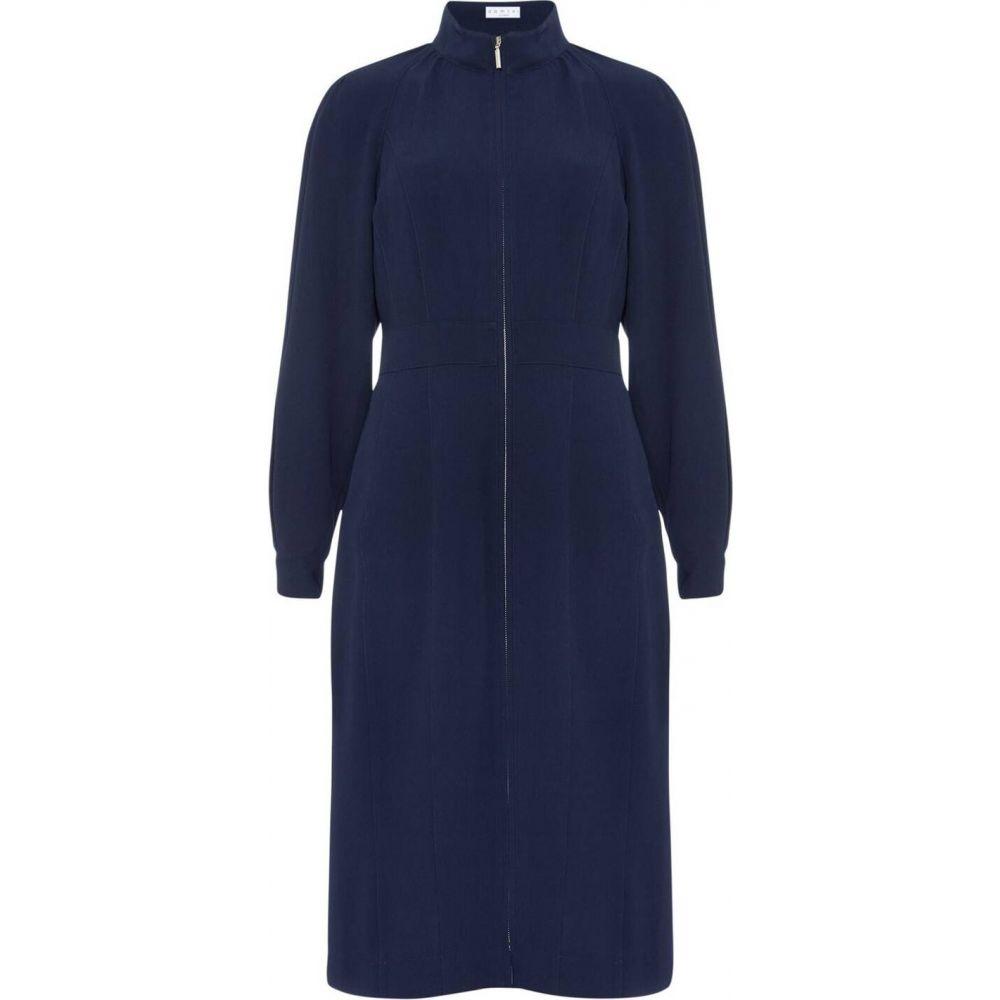 ダンセル Damsel in a Dress レディース ワンピース ワンピース・ドレス【cinzia zip front dress】Navy