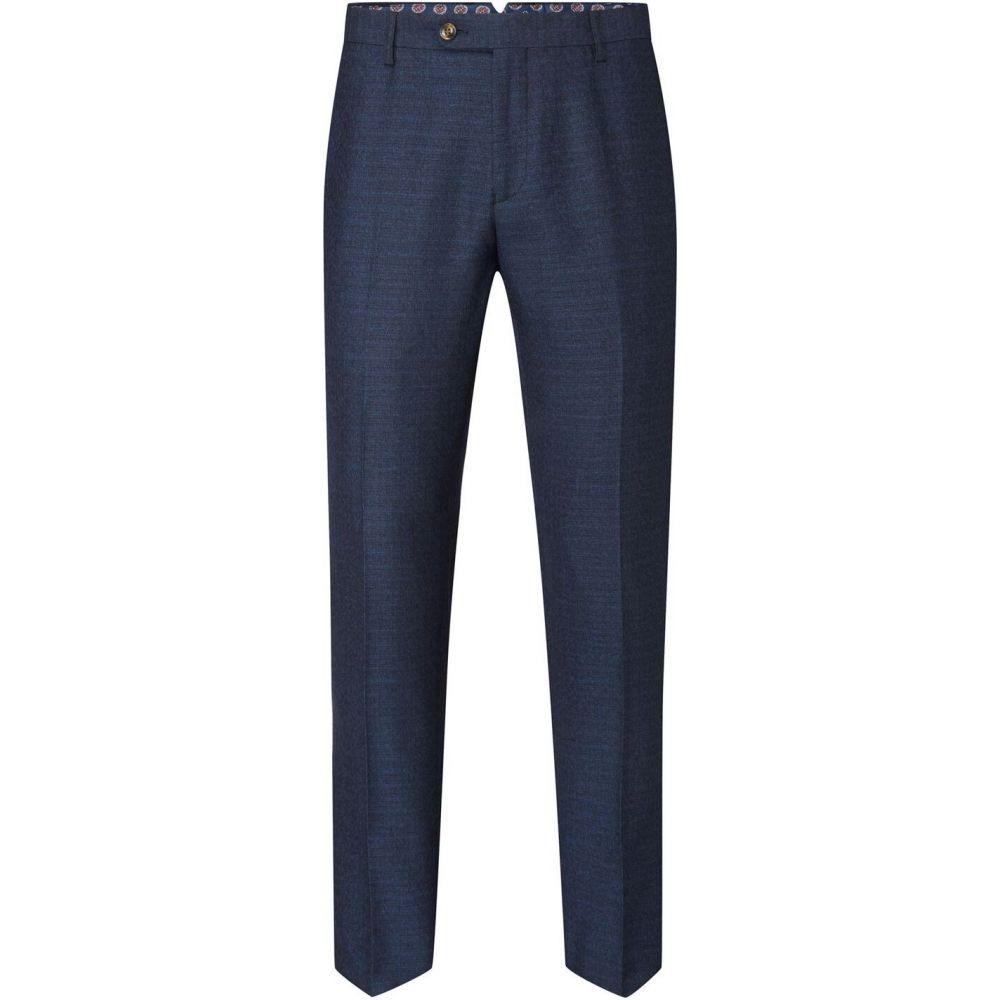 スコープス Skopes メンズ スラックス ボトムス・パンツ【santini suit tapered trouser】Navy