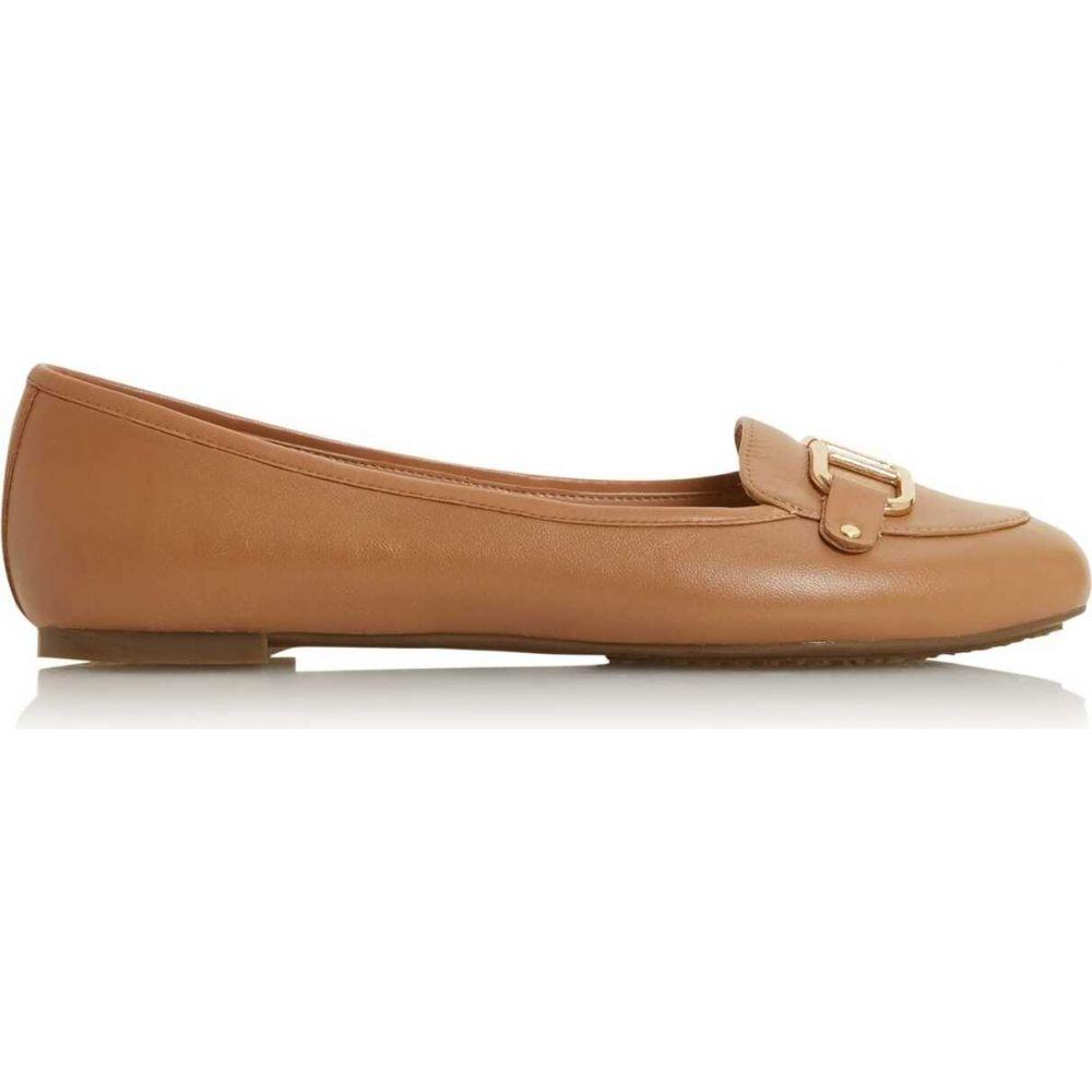 デューン Dune London レディース ローファー・オックスフォード シューズ・靴【hylton slip on loafers】Camel
