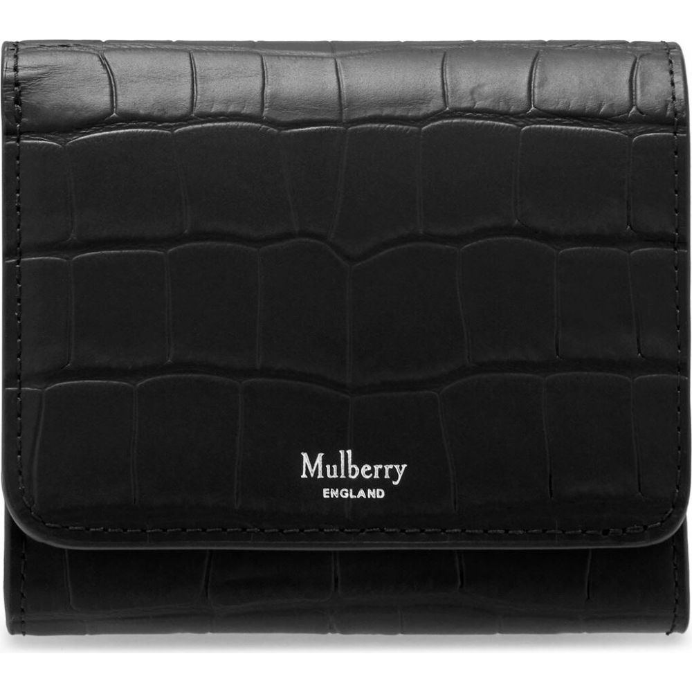 マルベリー Mulberry レディース 財布 【small continental french purse】Black