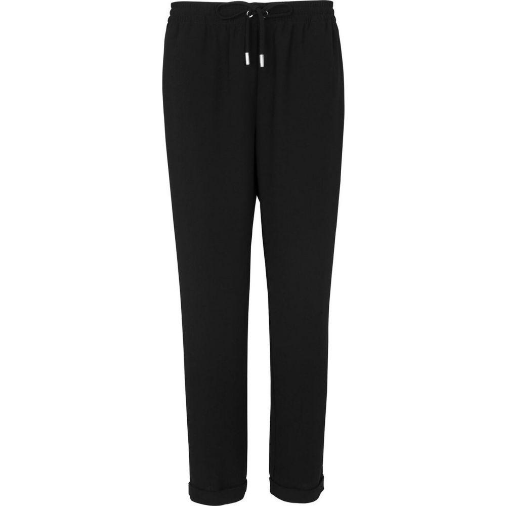 ホイッスルズ Whistles レディース ボトムス・パンツ 【helena crepe trousers】Black