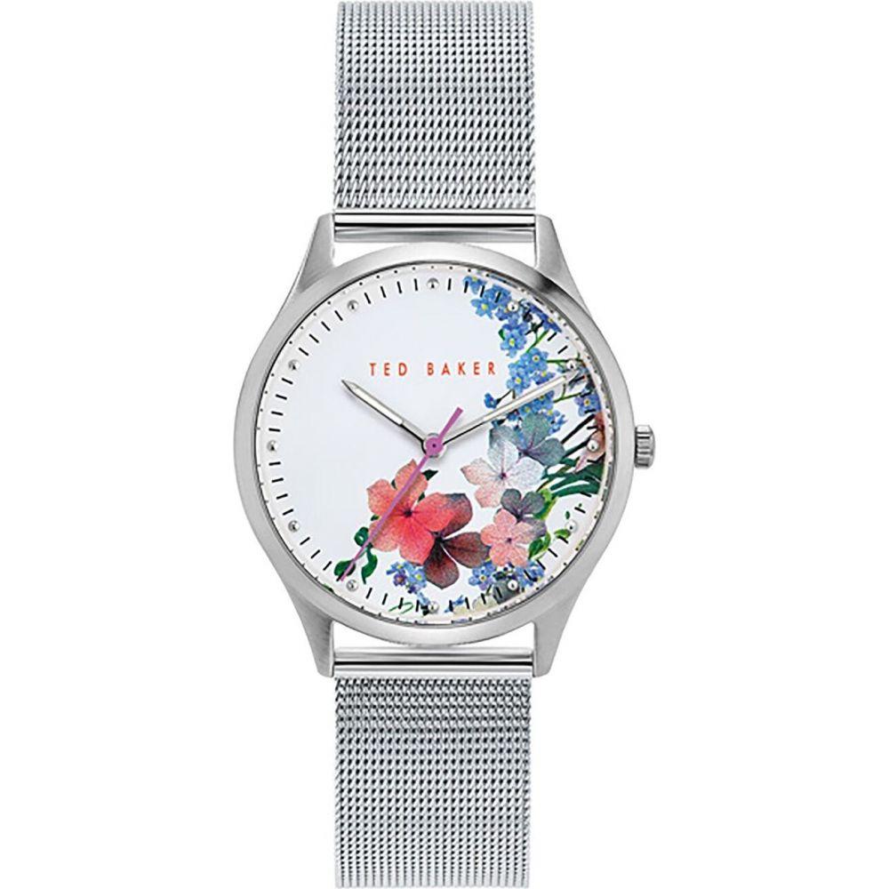 テッドベーカー Ted Baker レディース 腕時計 【silver mesh band watch】METALLICS