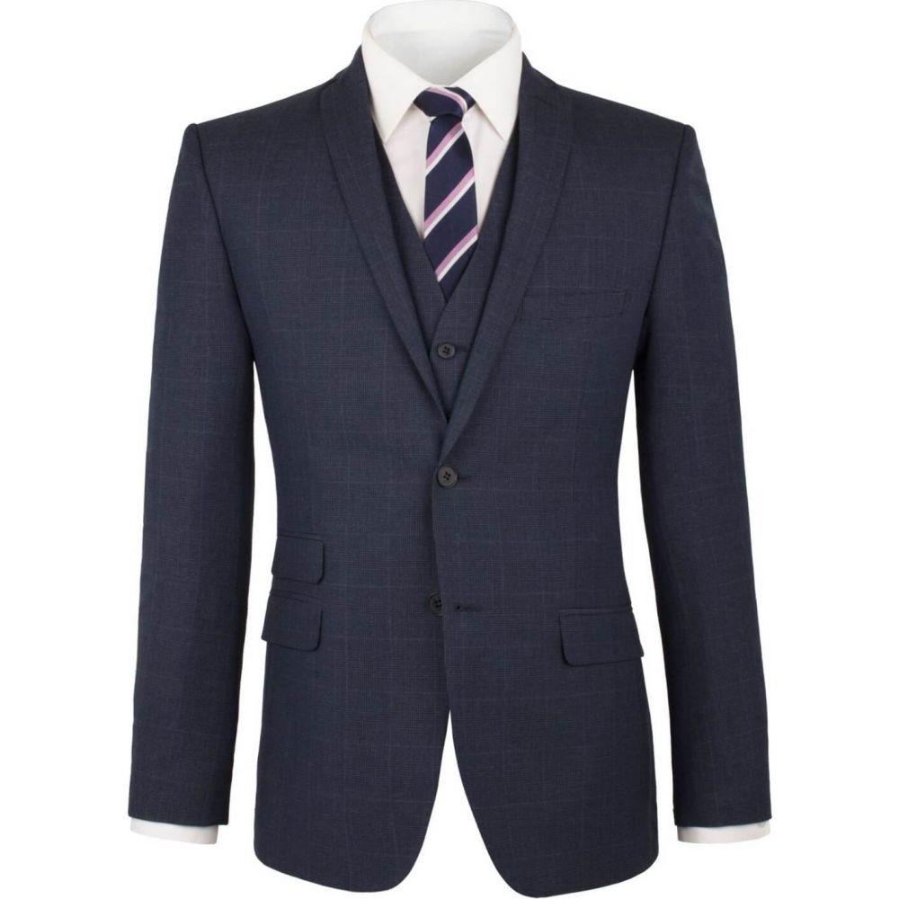 ライムハウス Limehaus メンズ スーツ・ジャケット アウター【blue pow check jacket】Blue