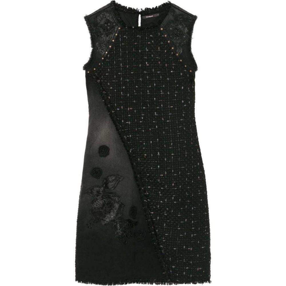 デジグアル Desigual レディース ワンピース ワンピース・ドレス【dress achille】Black