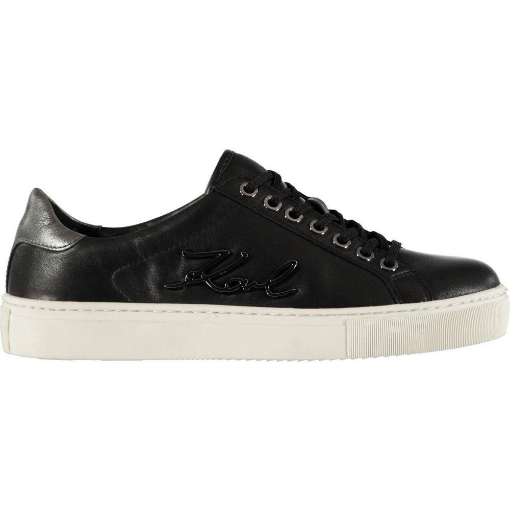 カール ラガーフェルド Karl Lagerfeld レディース スニーカー シューズ・靴【kupsole signia trainers】Black/Dgrey
