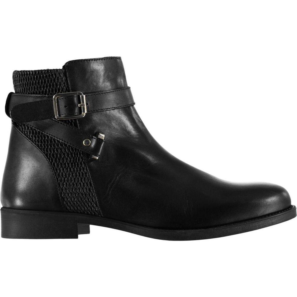 リネアペレ Linea レディース ブーツ シューズ・靴【buckle boots】Black