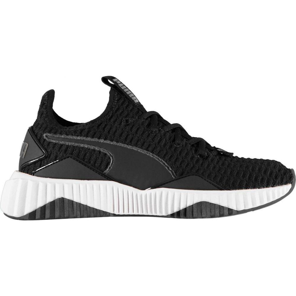 プーマ Puma メンズ フィットネス・トレーニング シューズ・靴【defy trainers】BlackWhite