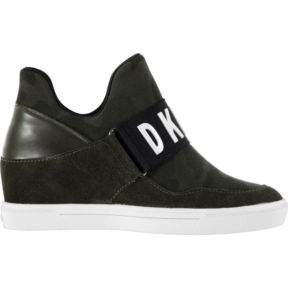 ダナ キャラン ニューヨーク DKNY レディース スニーカー シューズ・靴【cosmos hi top trainers】CAMO BLK CJ