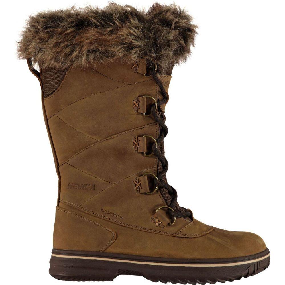 ネヴィカ Nevica レディース ブーツ スノーブーツ シューズ・靴【vail snow boots】Brown