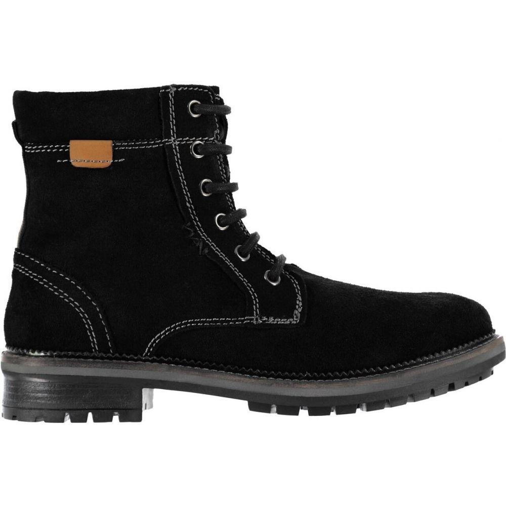 リネアペレ Linea レディース ブーツ シューズ・靴【rugged lace boots】Black