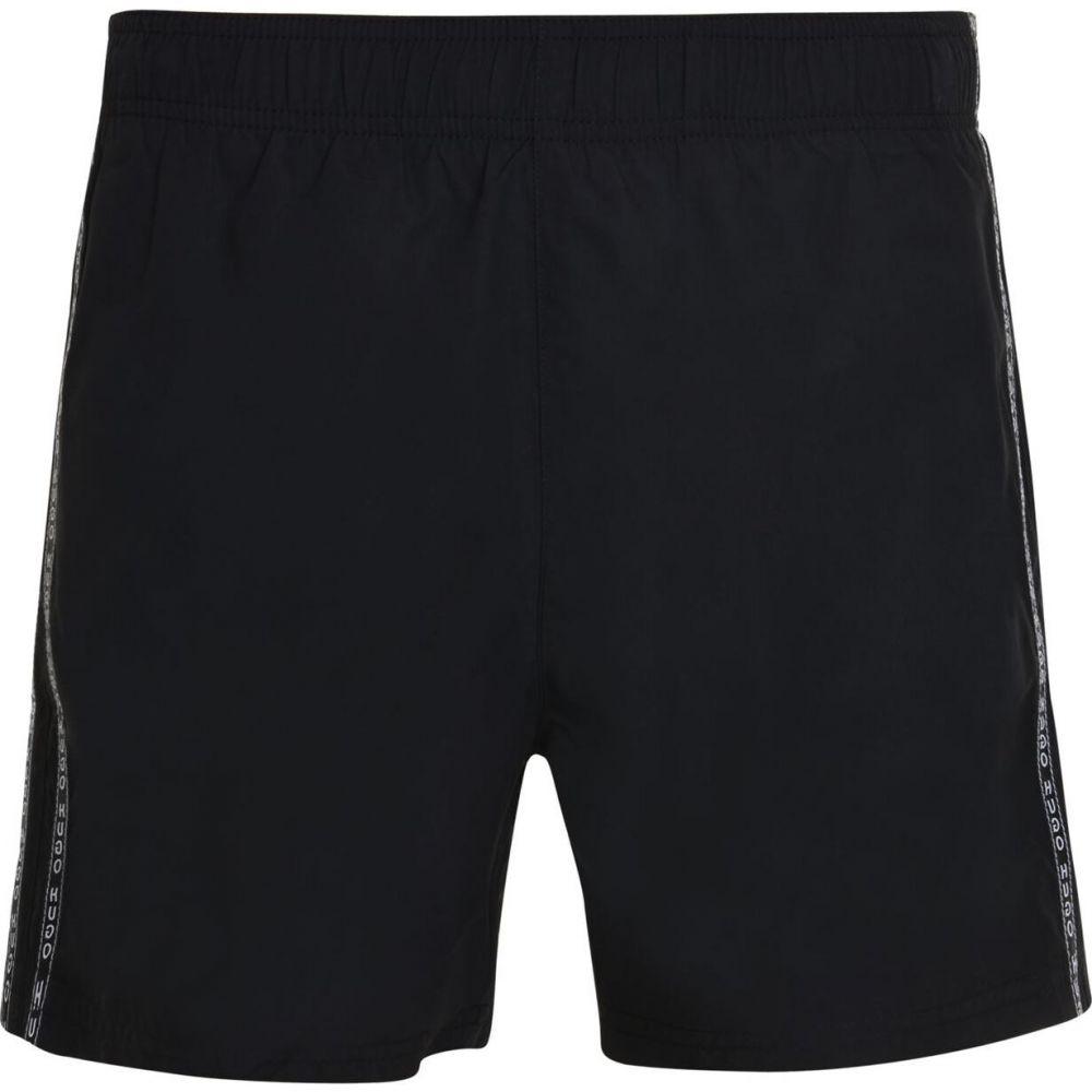 ヒューゴ ボス HUGO メンズ 海パン ショートパンツ 水着・ビーチウェア【tape logo swim shorts】Black